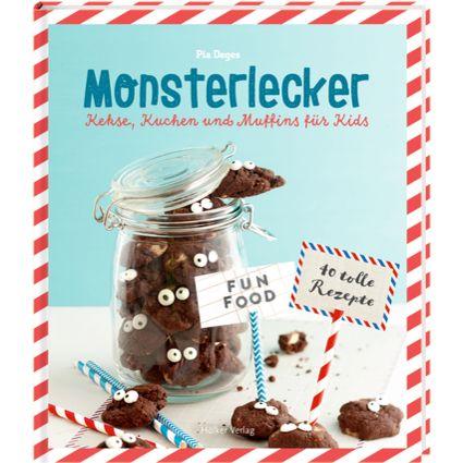 Die nächste Kinderparty oder das Schulfest stehen an? Pia Deges hat für dieses Backbuch kleine Knabbereien, köstliche Kuchen und allerlei Ideen für krümelmonsterstarken Partyspaß kreiert