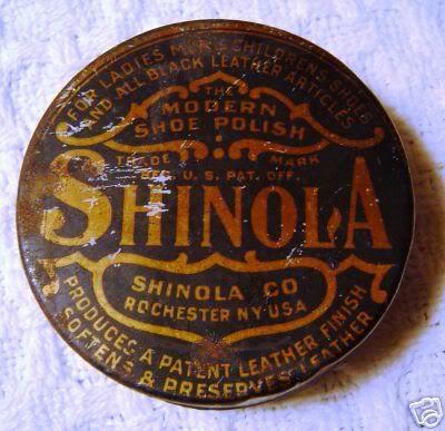 "Shinola Shoe Polish/ i have always heard ""you don't know sh.. from shinola"" now I know what shinola is..........."