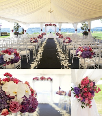 Lake Washington wedding at Woodmark Hotel in Kirkland