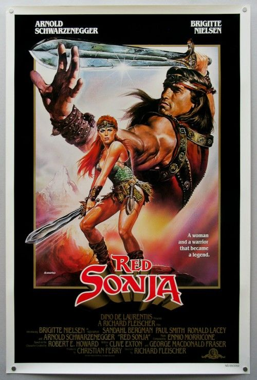 Omg how I wanted to be like red Sonja growing up!