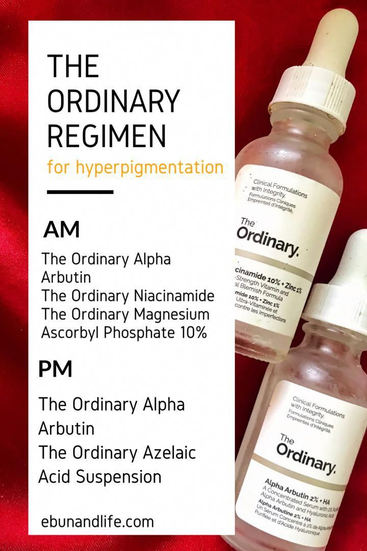 The Ordinary Skincare Routine Hyperpigmentation in 2020 ...