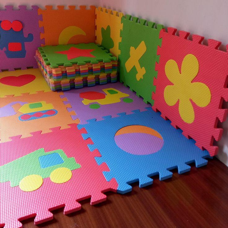 10PCS 30*30cm Baby Puzzle Carpet Baby Play Mat Floor Puzzle Mat EVA Children Foam Carpet Mosaic Floor Play Mats 4 Style PX10