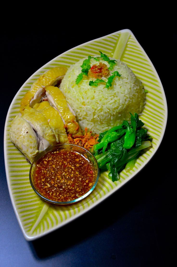 Singapore chicken rice | Food and Drink | Pinterest