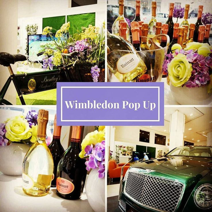 Fabulous @bentleys_london pop up at @hrowenbentley in Berkeley Square with @ruinart champagne.  I went yesterday to watch the tennis on the fab huge @bangolufsen while I sipped on Ruinart #champagne - not a bad way to start the afternoon - though the stunning #Bentley cars were something of a diversion - did you know they are all still #handmade in Crewe - except for ONE part (a window mechanism which is fitted by a robot!). . .  #wimbledon #ruinart #champagne #tennis #andymurray…