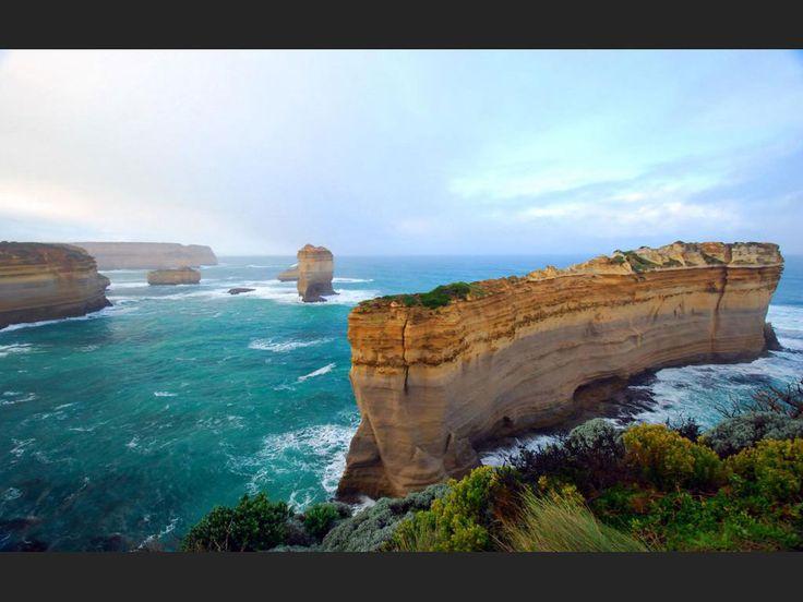 Razoredge, Great Ocean Road, Victoria, Australie