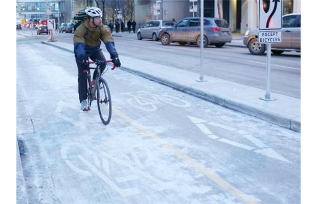 City set to unveil plans for downtown cycle track network
