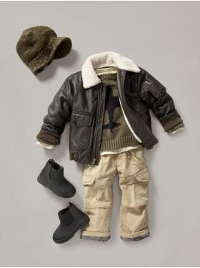 GAP has the most handsome outfits for boys!