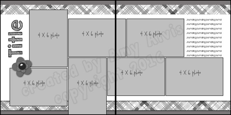 4 X 6 Photo Sketch Blog: 12 x 12 - 121