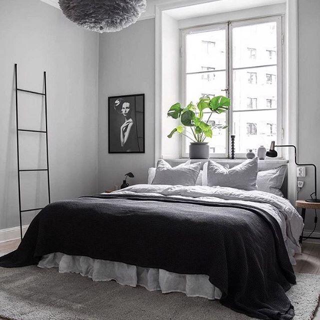 A Gorgeous Bedroom Via Bosthlm Realestate Our 15 Off On All Vita Eos Light Shade Offer E Home Decor Bedroom Scandinavian Design Bedroom Bedroom Interior