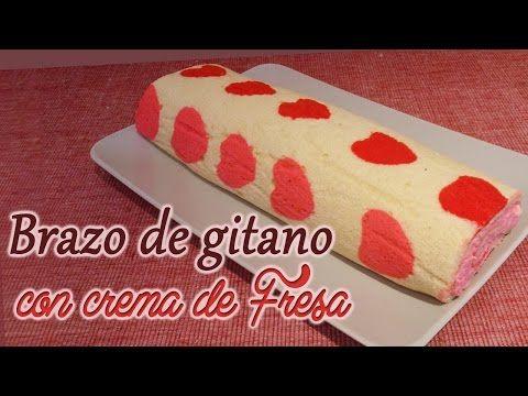 Elaborar un brazo de nata con decoración, paso a paso. Cuchillito y Tenedor *6* - YouTube