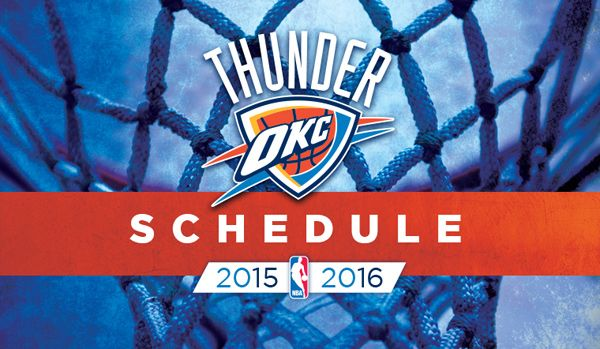 See the 2015-16 Thunder schedule now: okcthunder.com/schedule