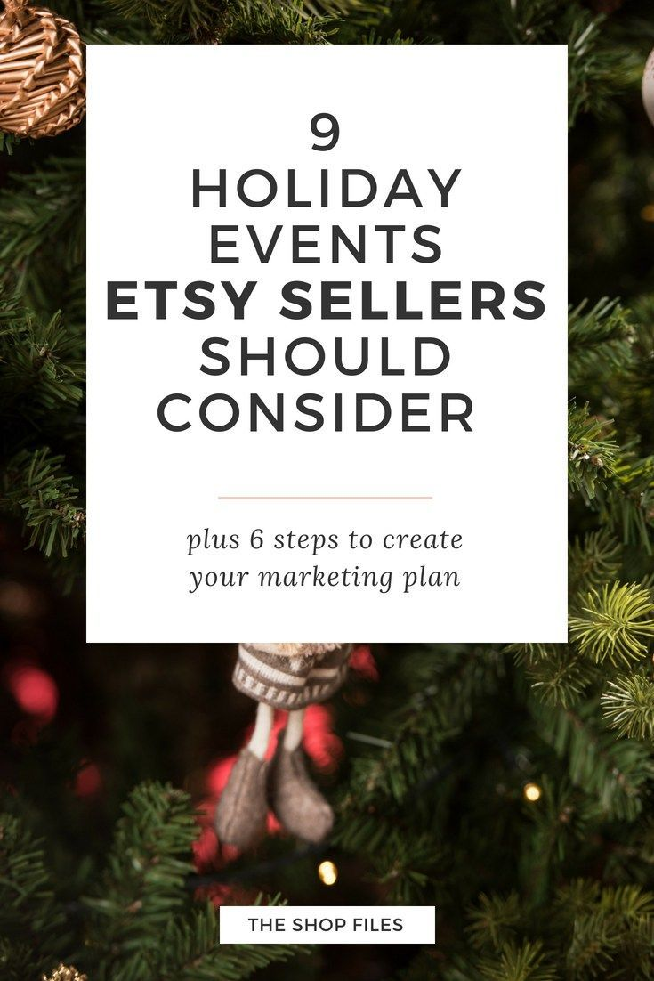 6 Steps to Create your Holiday Marketing Plan | Ecommerce & etsy ...