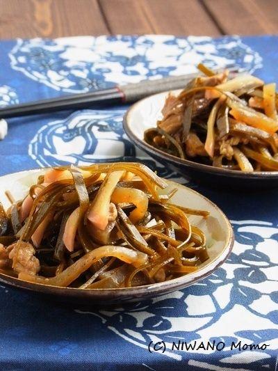 《沖縄料理》クーブイリチーの作り方を伝授、昆布と豚のうま味☆