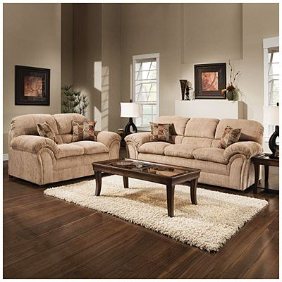 living room sets big lots chaise lounge chairs for simmons champion tan set at microfiber our next house 599 98 wishlist apartment furniture