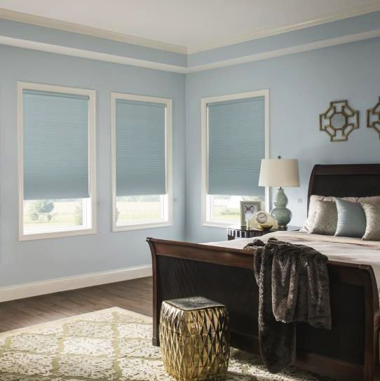 54 best images about cellular shades on pinterest hunter for Budget blinds motorized shades