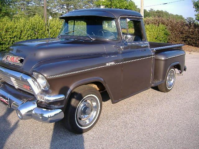 1957 GMC Step Side PickupTough Trucks, Antiques Trucks, Trucks Vans 4X4, Strict Trucks, Automobile Pl Trucks Gmc Usa, Vintage Trucks, Hubby'S Trucks, Carse Trucks, Trucks Yea
