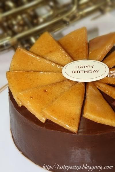 Dobos Torte from Hungary