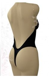Backless Body Shaper with Thong Bottom by Fullness 9001
