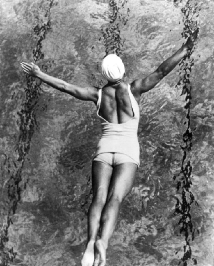 Swimmer at the LA Olympics, 1932 Marie Claire