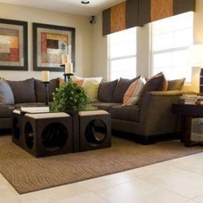 Fabulous Ideas para decoracion de Salas de estar cafe Chocolate Curso de organizacion de hogar aprenda