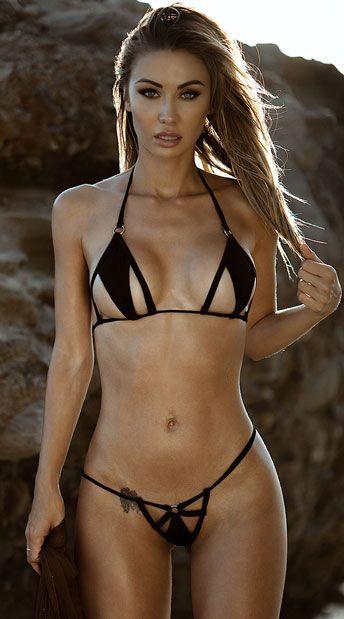 1d74aabfb7f Cut-Out Micro Bikini | Yandy Lingerie | Bikinis, String bikinis ...