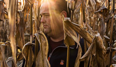 """WHY I FARM: Behind the Movement-Farming for a Purpose - On April 14, 2014, three of us from the Beck's marketing department loaded the truck and headed west to DeWitt, IA. Our goal – capture the """"Why I Farm"""" story of Mike Schmidt."""
