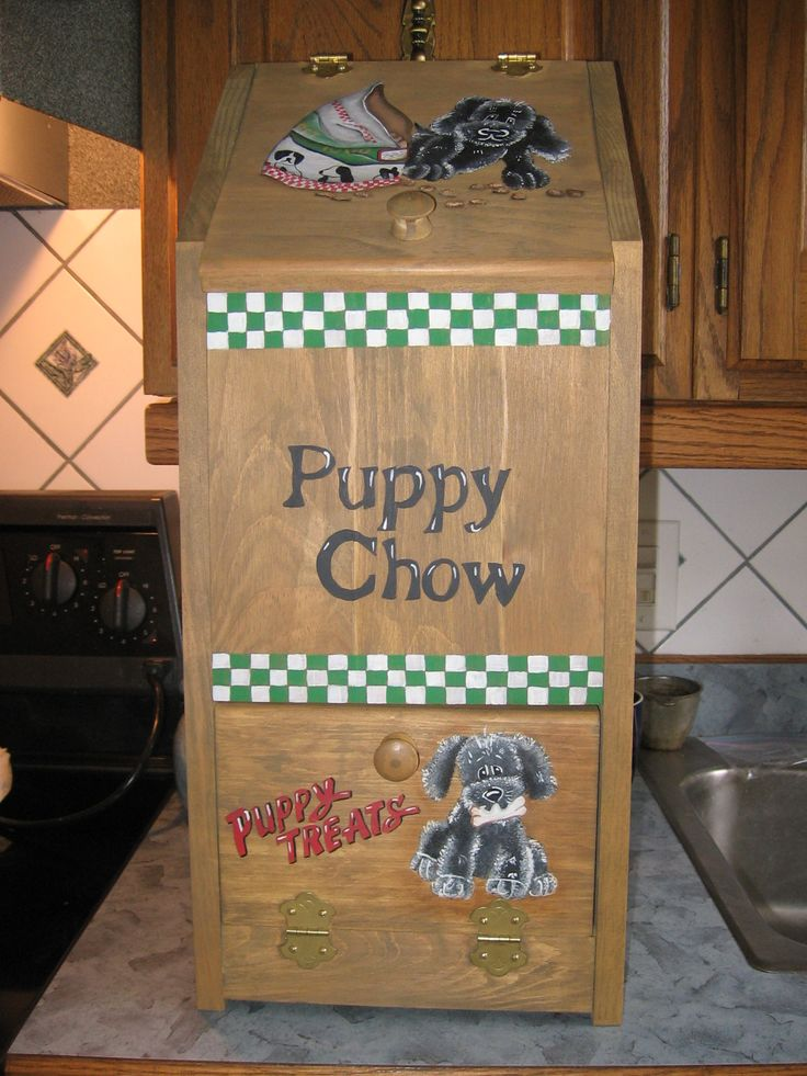 Puppy Chow Bin
