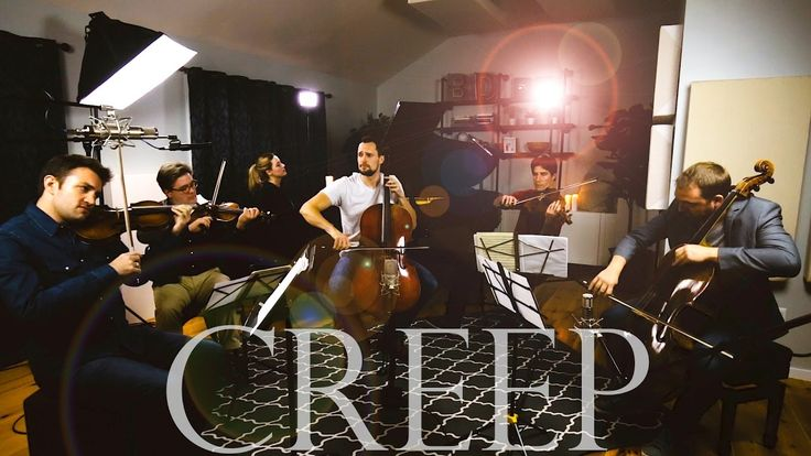Creep - Radiohead (Cello + Piano + String Quartet Cover) - Brooklyn Duo feat. Escher Quartet - YouTube