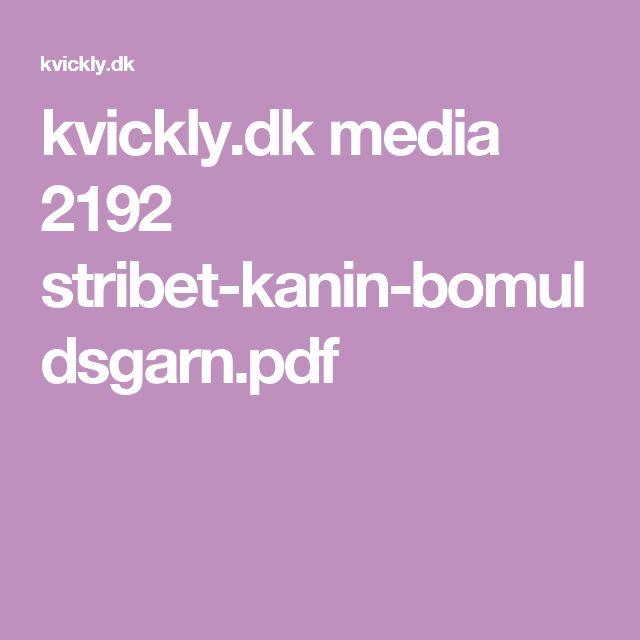 kvickly.dk media 2192 stribet-kanin-bomuldsgarn.pdf
