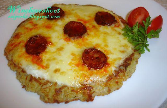Csiperke blogja: Lapcsánka pizza