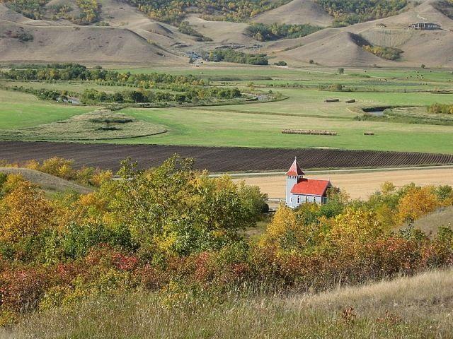 Valley Church in the Fall - Regina, Saskatchewan