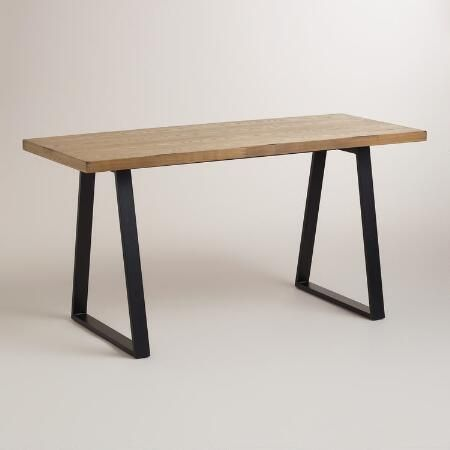 1000 Ideas About Wood And Metal Desk On Pinterest Metal Desks Wood And Metal And Pine Desk
