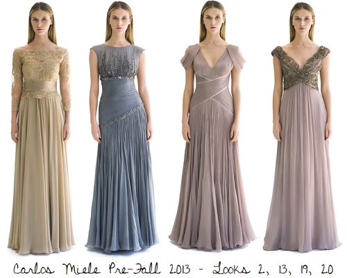 I love the first two from L-R vintage bridesmaid dresses