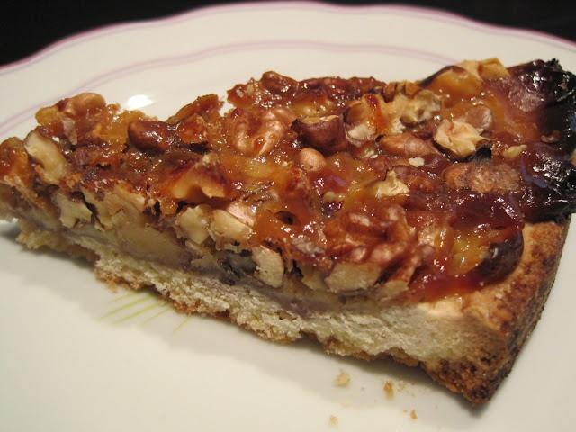 El punto del caramelo: Tarta de nueces (Pie de nueces)