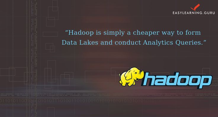 learn #Hadoop From  EasyLearning Guru and became #HadoopDeveloper   Enroll Now For Demo class  :http://goo.gl/xoJX2U