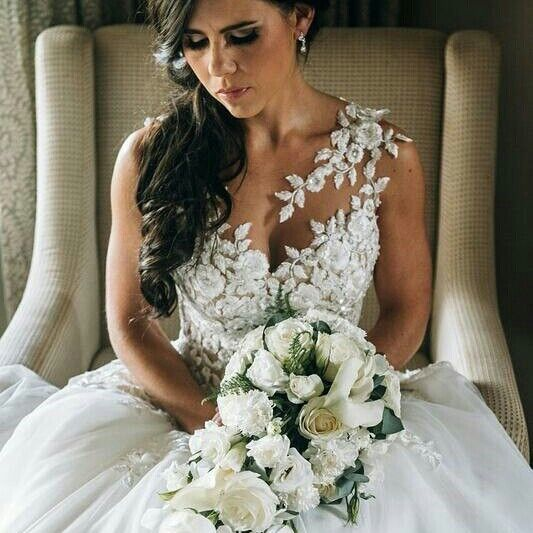 """""""Hers is an old fashioned heart that holds timeless love"""".  Taryn Youngs, an inspiring De La Vida bride, in TACIANA by Pronovias.  May life grant you beautiful moments that will turn into a lifetime of memories. We wish you all the best with your new journey as husband and wife.  #delavida #delavidabride #pronovias"""