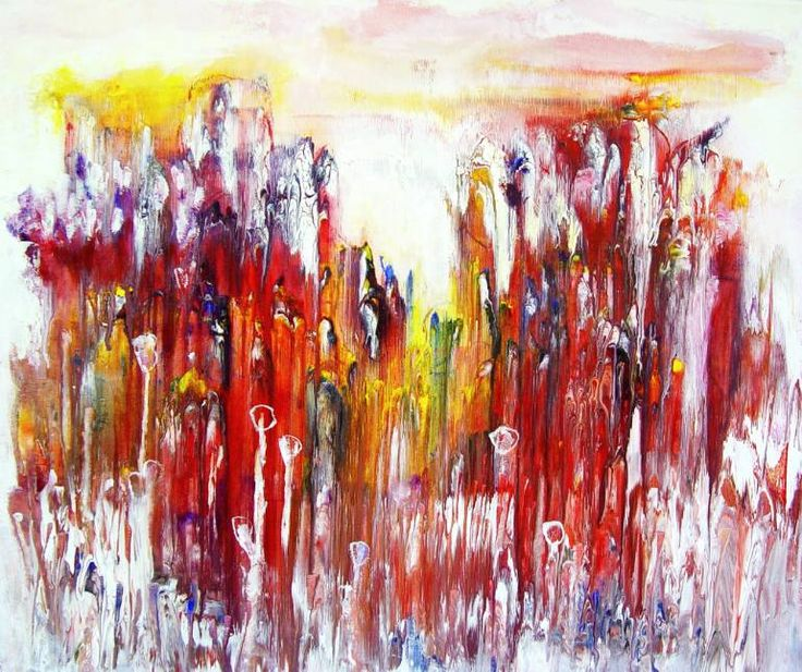 Buy Prints of ZP448, a Acrylic on Canvas by Radek Smach from Czech Republic. It portrays: Abstract, relevant to: re, sky, sun, yellow, colorfull, clouds, contemporary, abstract, landscape, modern, mountains Ready to hang.   No framing required (it can be framed).
