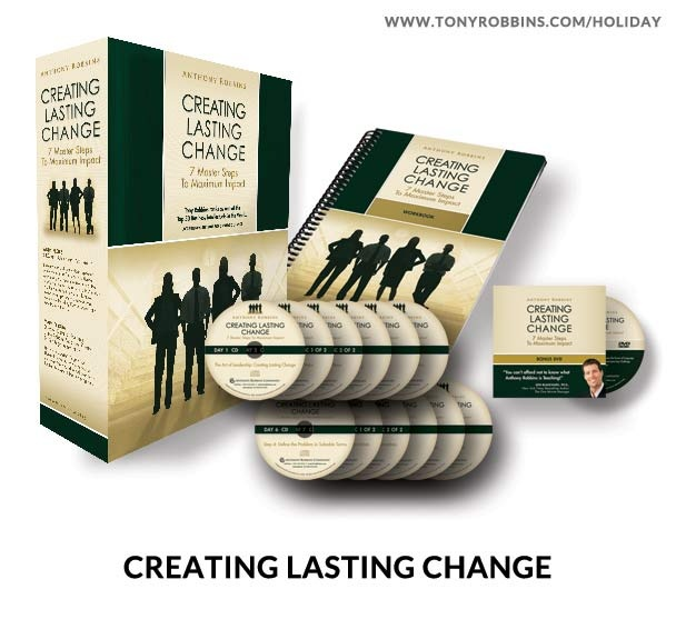 tony robbins creating lasting change workbook pdf