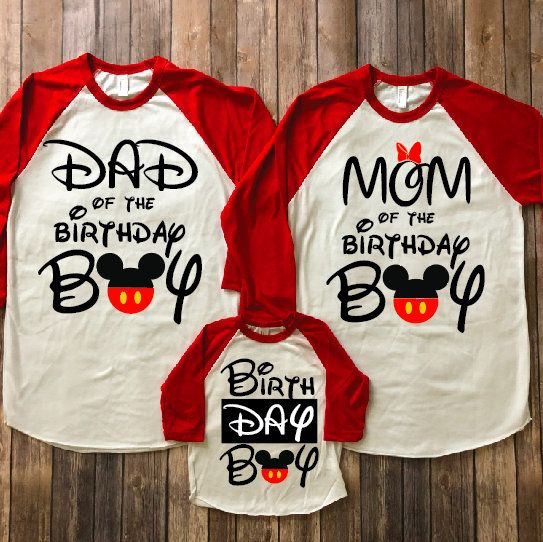 Mickey Mouse Birthday Shirt Disney