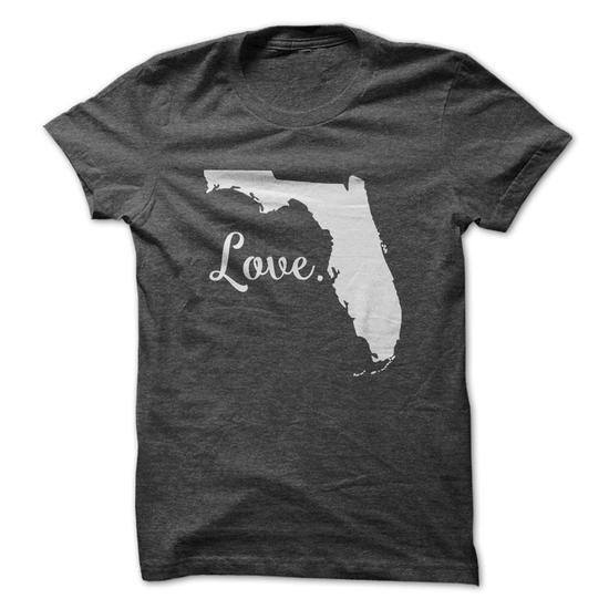Love Florida - #gift for mom #gift sorprise. BUY IT => https://www.sunfrog.com/States/Love-Florida-62502030-Guys.html?68278