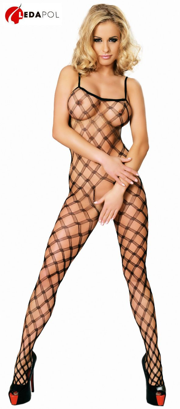 Bold Fishnet Body Stocking