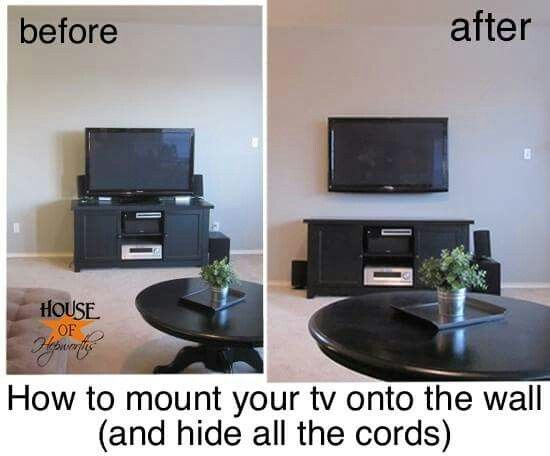 How To Hang A Tv On The Wall 25 best tv images on pinterest | tv mounting, home and mount tv