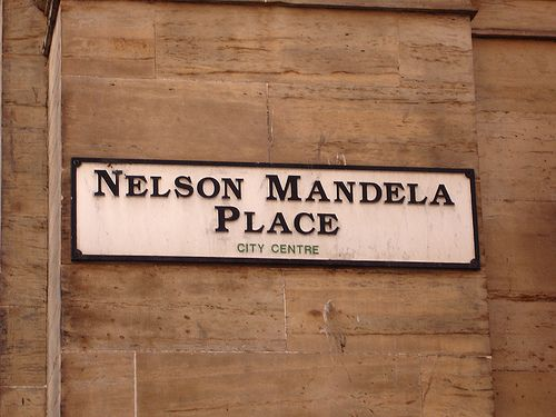 """Did you know.... Nelson Mandela praised the """"Citizens of Glasgow"""" for being the first to offer him the Freedom of the City, at a time more than a decade earlier when many others were still condemning him as a terrorist for his role in challenging the system of racial segregation in his home country."""