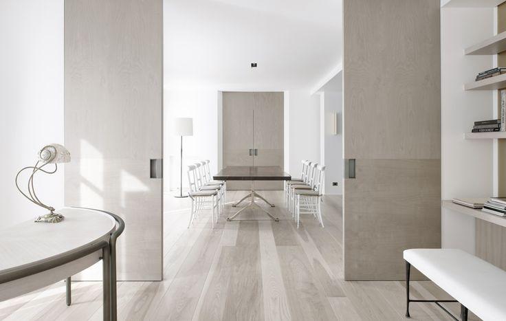 Image result for whitewash floating floorboards