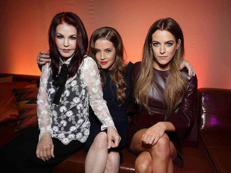 Get All Shook Up over Three Generations of Presley Women (PHOTO) http://www.people.com/article/priscilla-presley-lisa-marie-presley-riley-keough-mad-max-premiere