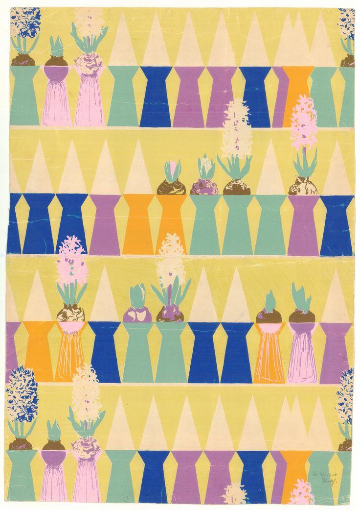 Tapeter og tekstiler, Tapetudkast Arne Jacobsen