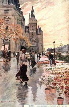 Les 42 meilleures images du tableau paris dans la peinture for Jardin 19eme siecle