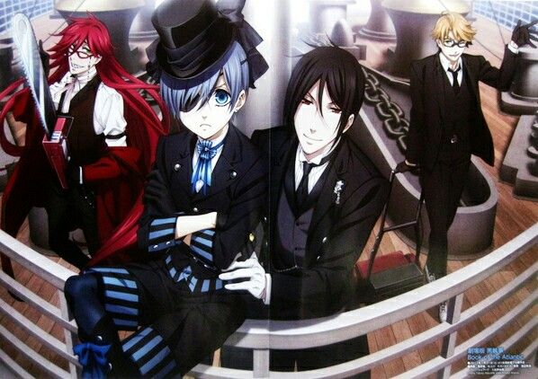 Kuroshitsuji: Book of the Atlantic   Kuroshitsuji - Black Butler #Anime #Manga