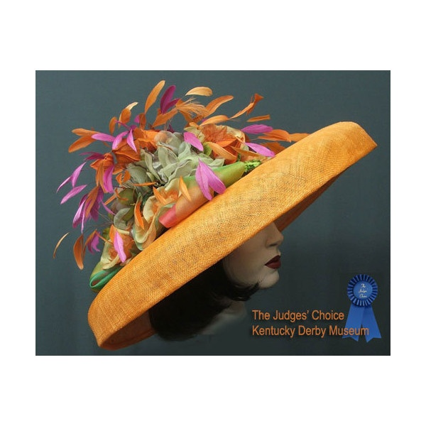 Kentucky Derby Hats Award Winning Derby Museum Millinery Race Hats... found on Polyvore