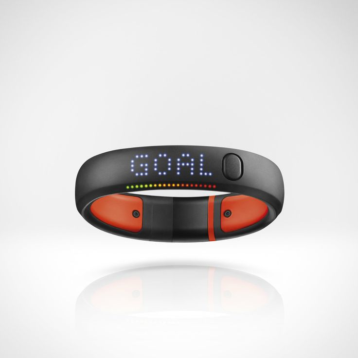 This will remind you to get out when you've been staring at your computer for too long / Nike Fuel Band